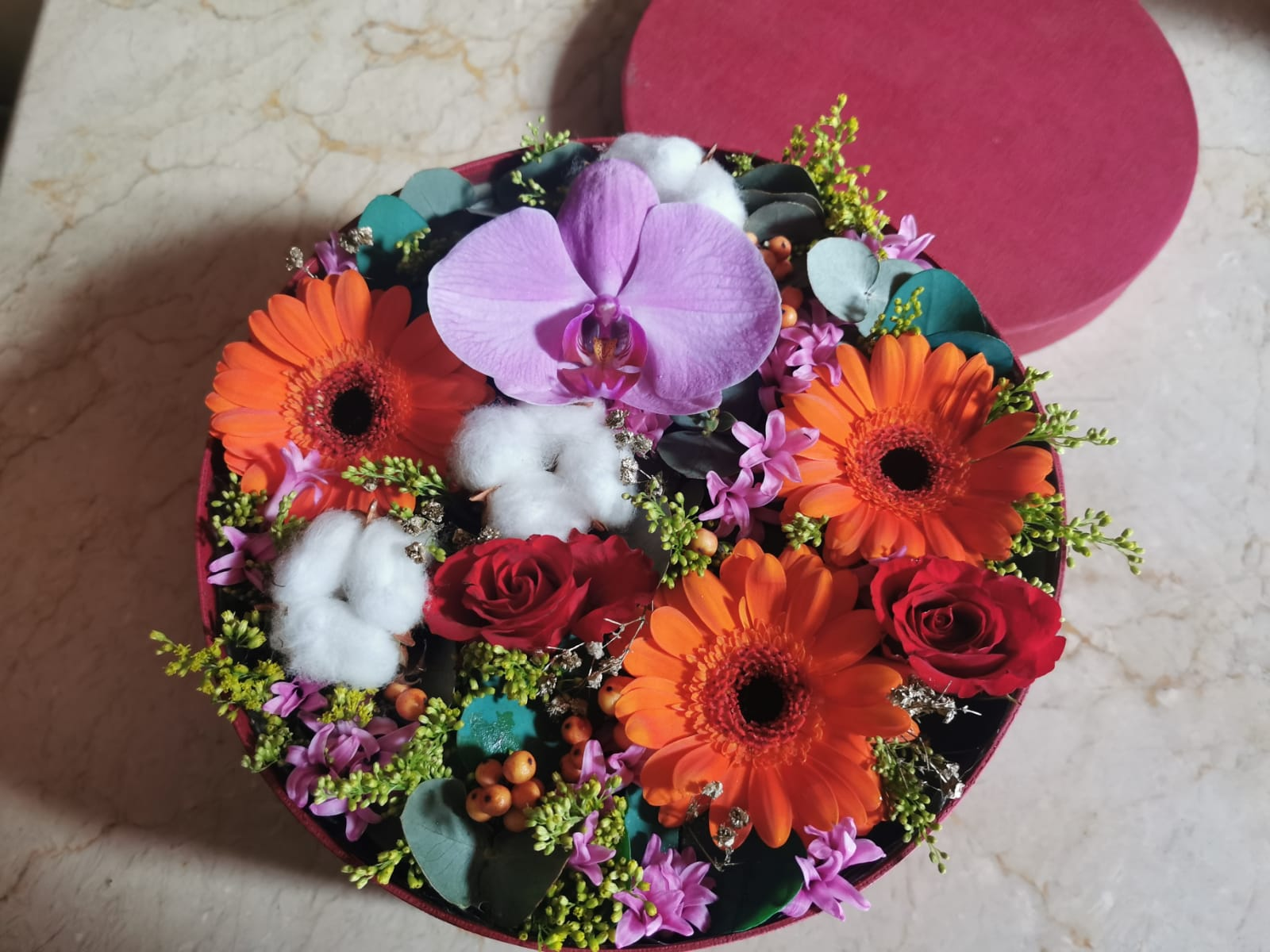 Caja floral Deluxe